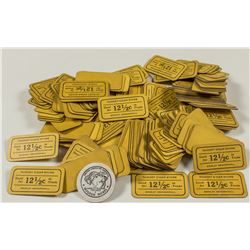 Nugget Cigar Store Paper Tokens