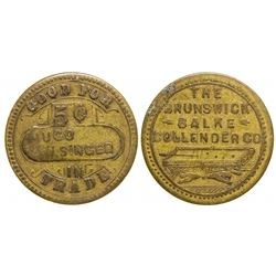 Billiard Table Token