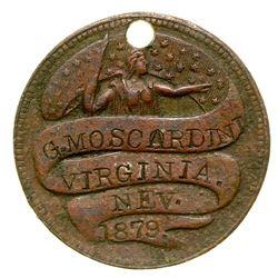 G. Moscardini Token (Virginia City, Nevada)