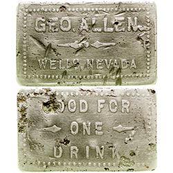 Geo. Allen, Wells Nevada