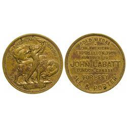 Pan-American Exposition Souvenir Award Token