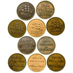 Ships, Colonies Tokens