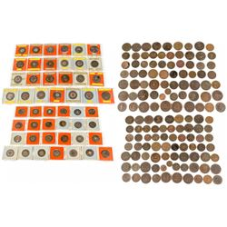 Large Group of 18th and 19th Century British Tokens, including Condors.