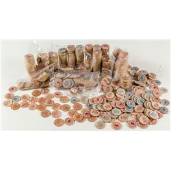 Wooden Nickels Collection