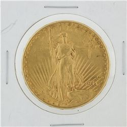 1911-D $20 St. Gaudens Double Eagle Gold Coin