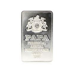 Tiffany & Co. Sterling Silver Seagram Perennial Annual Performance Award 1988