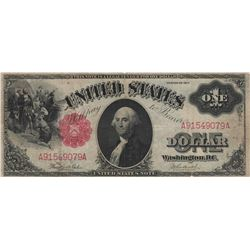 1917 $1 Large Series United States Legal Tender Note US Currency