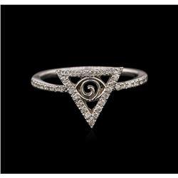 0.20ctw Diamond Ring - 14KT White Gold