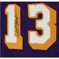 Los Angeles Lakers Wilt Chamberlain Autographed Jersey