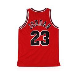 Chicago Bulls Michael Jordan Autographed Jersey