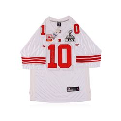 New York Giants Eli Manning Autographed Jersey