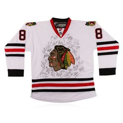2012-2013 Chicago Blackhawks Patrick Kane Stanley Cup Team Signed Jersey