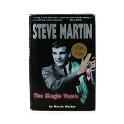 Signed Copy of Steve Martin: The Magic Years by Morris Walker