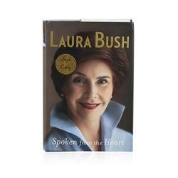 Signed Copy of Spoken from the Heart by Laura Bush