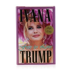Signed Copy of Free to Love by Ivana Trump