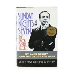 Signed Copy of Sunday Nights at Seven: The Jack Benny Story by Jack Benny and Joan Benny