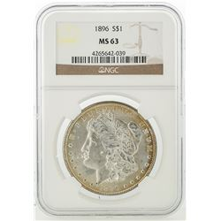 1896 NGC MS63 Morgan Silver Dollar