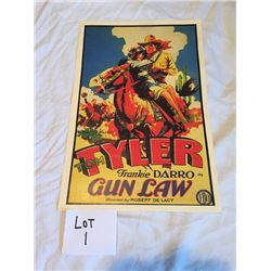 V. Gun Law Poster