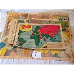 Vintage Paper Maps