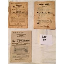 Vintage Implement Manuals