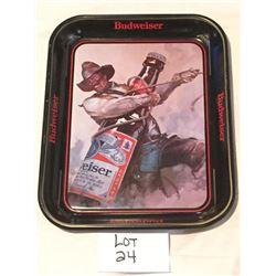 Vintage Budwieser Tray