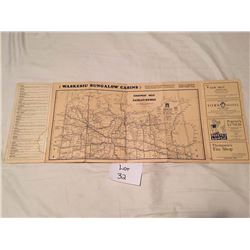Early Sask Highway map