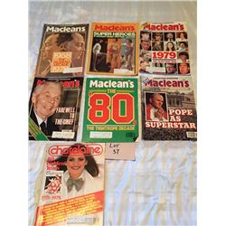 Macleans Magazines