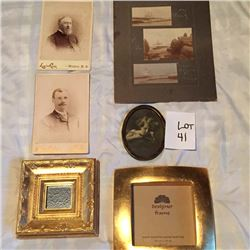 Antique Photos & Picture Frames