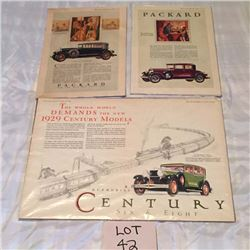 Vintage Auto Advertising