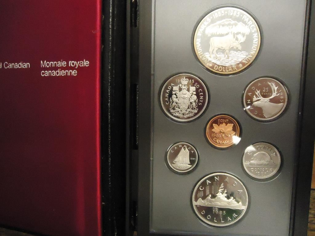 Royal Canadian Mint 1985 Canada Proof Set
