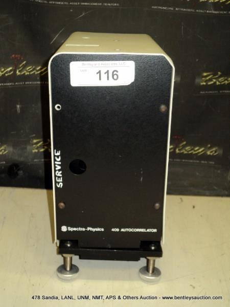SPECTRA-PHYSICS 409 AUTO CORRELATOR