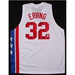c4f548c1 Julius Erving Signed Nets Throwback Jersey Inscribed