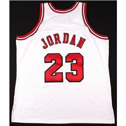 Michael Jordan Signed Bulls Mitchell & Ness Throwback Authentic Jersey (UDA COA)