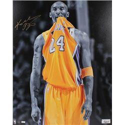Kobe Bryant Signed Lakers 24x30 LE Giclee on Canvas (Panini COA)