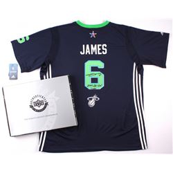 """LeBron James Signed LE Adidas Swingman Miami Heat 2014 All-Star Game Jersey Inscribed """"2014 All-Star"""