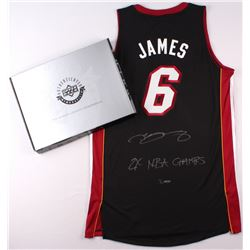 5764e19eca9 LeBron James Signed Miami Heat Authentic Adidas Away Jersey Inscribed