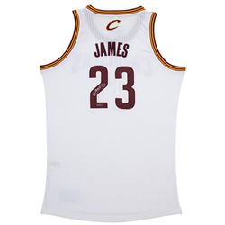 LeBron James Signed Cavaliers Authentic  Jersey (UDA COA)
