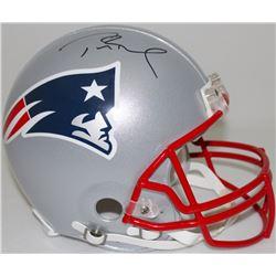 Tom Brady Signed Patroits Full Size Authentic Pro-Line Helmet (TriStar Hologram)