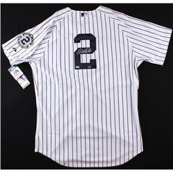 Derek Jeter Signed Yankees Authentic Majestic Jersey (Steiner COA & MLB Hologram)