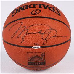Michael Jordan Signed LE 50th Anniversary HOF Official NBA Game Ball (UDA COA)