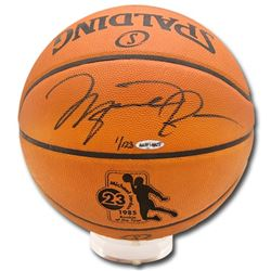 Michael Jordan Signed LE Rookie of The Year Official NBA Game Ball (UDA COA)