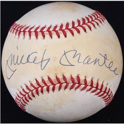 Mickey Mantle Signed OAL Baseball (UDA COA)
