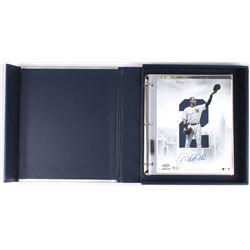 Derek Jeter Signed Yankees Coffee Table Photo Book with 8x10 Photo Set (Steiner COA & MLB Hologram)