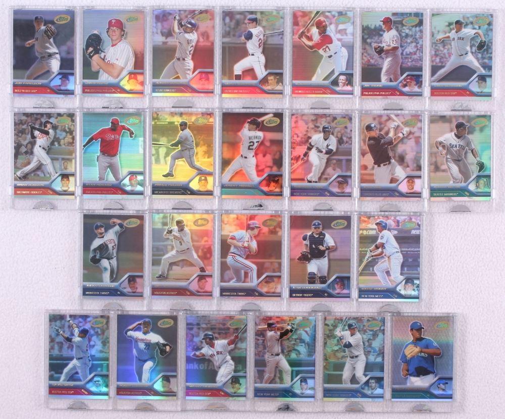 Lot Of 25 2005 Etopps Baseball Cards With 48 David Ortiz