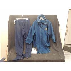 CONEHEADS COMPLETE ALIEN WORN BLUE REMULAK COSTUME