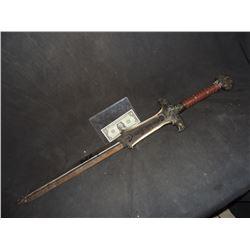 CONAN THE BARBARIAN ATLANTEAN SWORD SIGNED BY ARNOLD SCHWARZENEGGAR