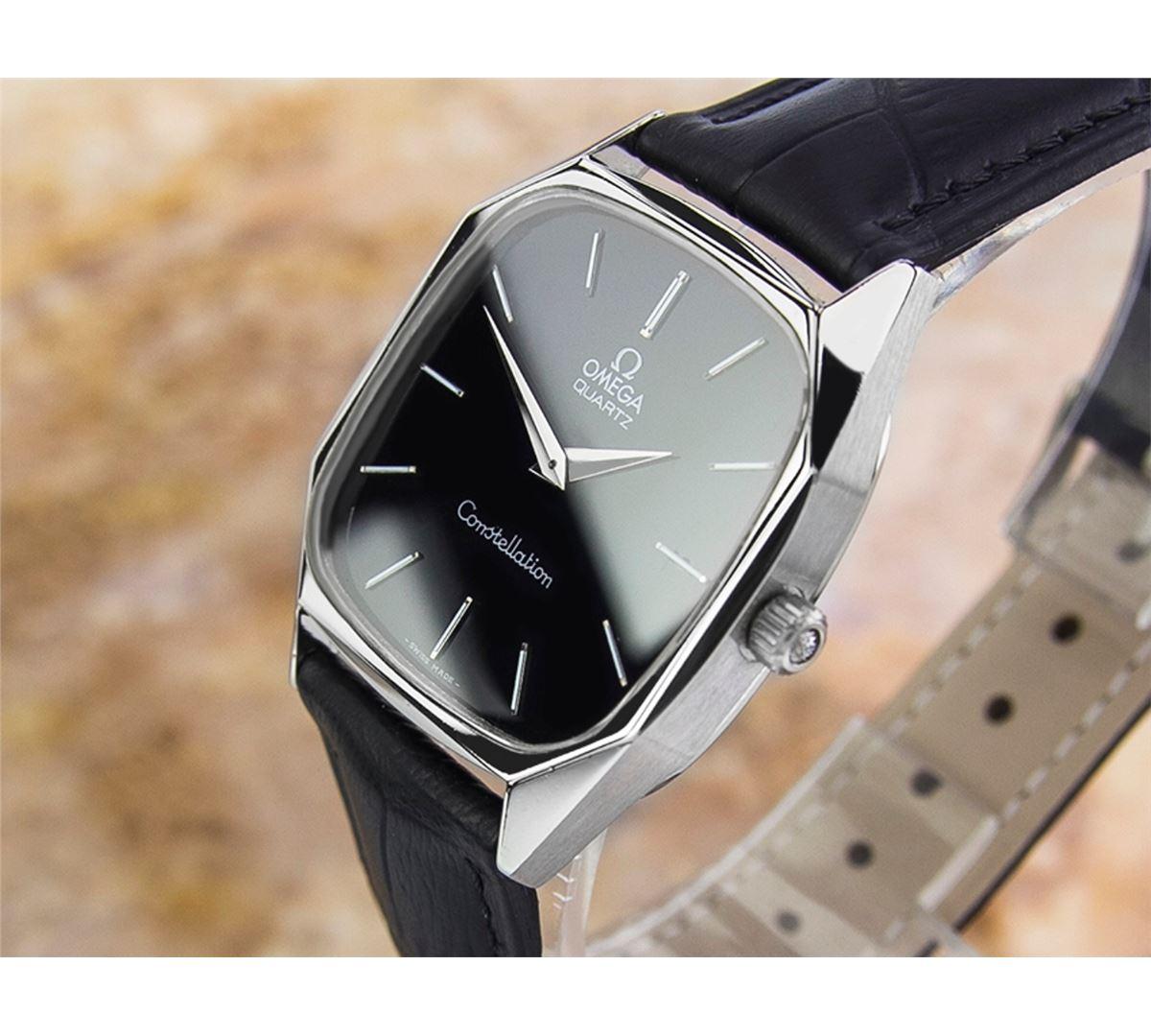 Omega Constellation Stainless Steel Quartz Watch