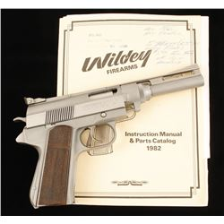 Wildey WM-456 Cal: .45 Win Mag SN: 45-1591