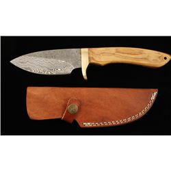 Damascus Steel Skinner