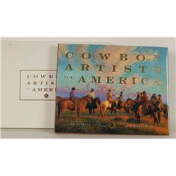 """Cowboy Artists of America"" Book"